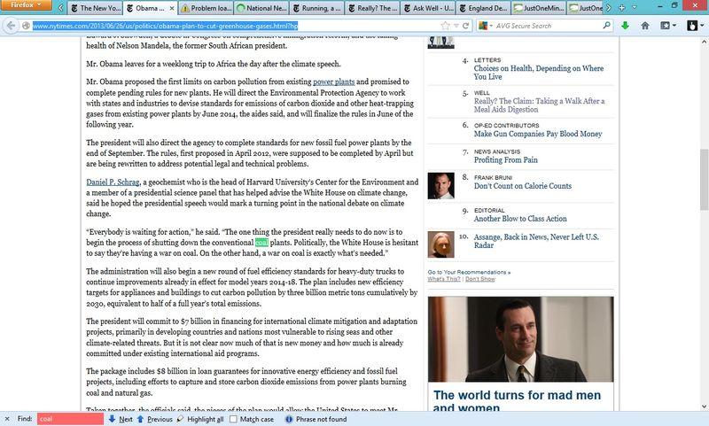 NYTimesWarOnCoal