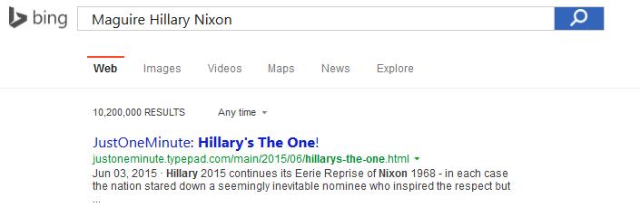 HillarysTheOne